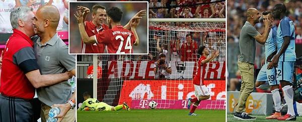 Guardiola bại trận trước 'tình cũ' Bayern trong ngày ra mắt Man. City - ảnh 1