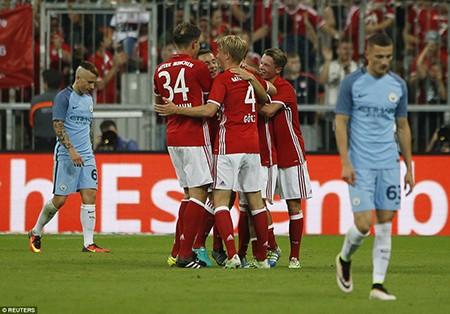 Guardiola bại trận trước 'tình cũ' Bayern trong ngày ra mắt Man. City - ảnh 4