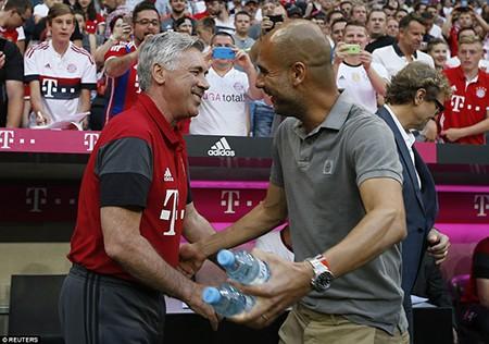 Guardiola bại trận trước 'tình cũ' Bayern trong ngày ra mắt Man. City - ảnh 13