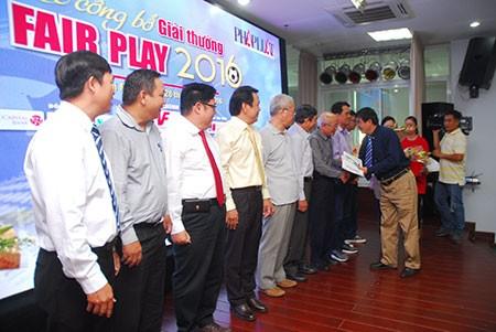 Chính thức công bố giải Fair Play 2016 - ảnh 3