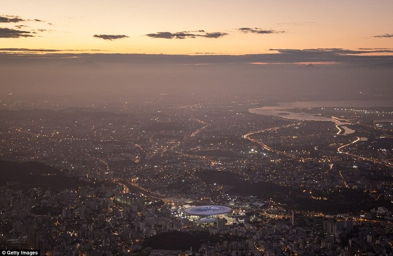 Hình ảnh đẹp ngỡ ngàng tại Rio trước lễ khai mạc Olympic - ảnh 11
