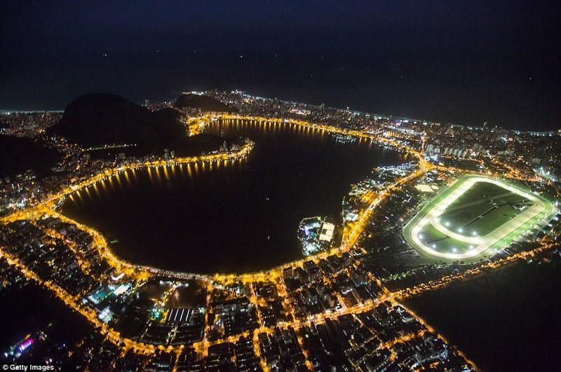 Hình ảnh đẹp ngỡ ngàng tại Rio trước lễ khai mạc Olympic - ảnh 1