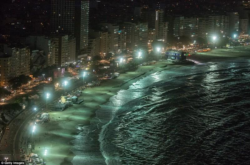 Hình ảnh đẹp ngỡ ngàng tại Rio trước lễ khai mạc Olympic - ảnh 2
