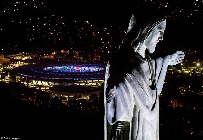 Hình ảnh đẹp ngỡ ngàng tại Rio trước lễ khai mạc Olympic - ảnh 4