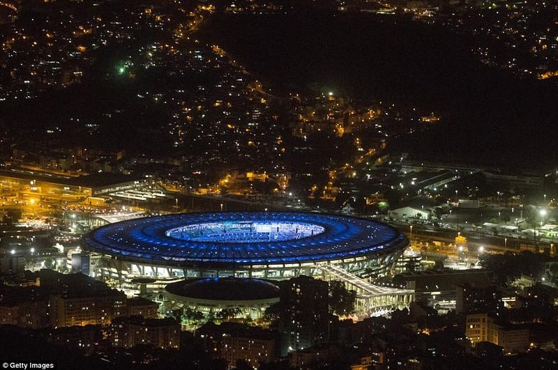 Hình ảnh đẹp ngỡ ngàng tại Rio trước lễ khai mạc Olympic - ảnh 5