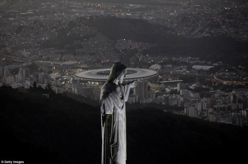 Hình ảnh đẹp ngỡ ngàng tại Rio trước lễ khai mạc Olympic - ảnh 7