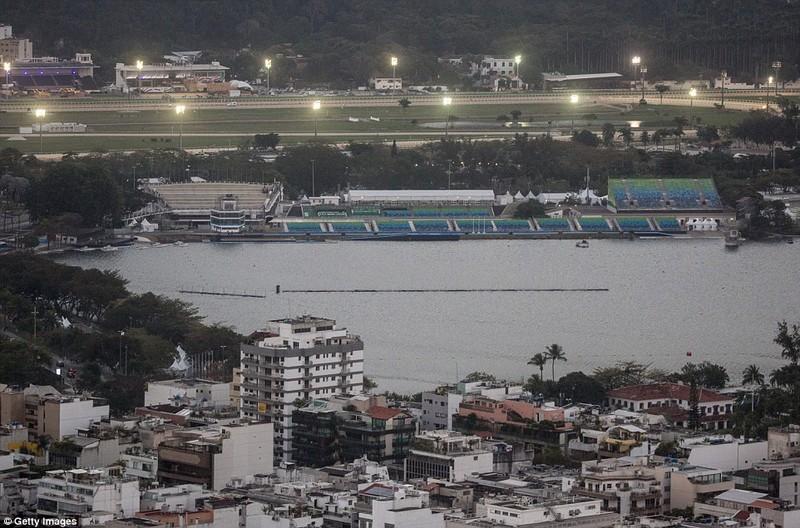 Hình ảnh đẹp ngỡ ngàng tại Rio trước lễ khai mạc Olympic - ảnh 8
