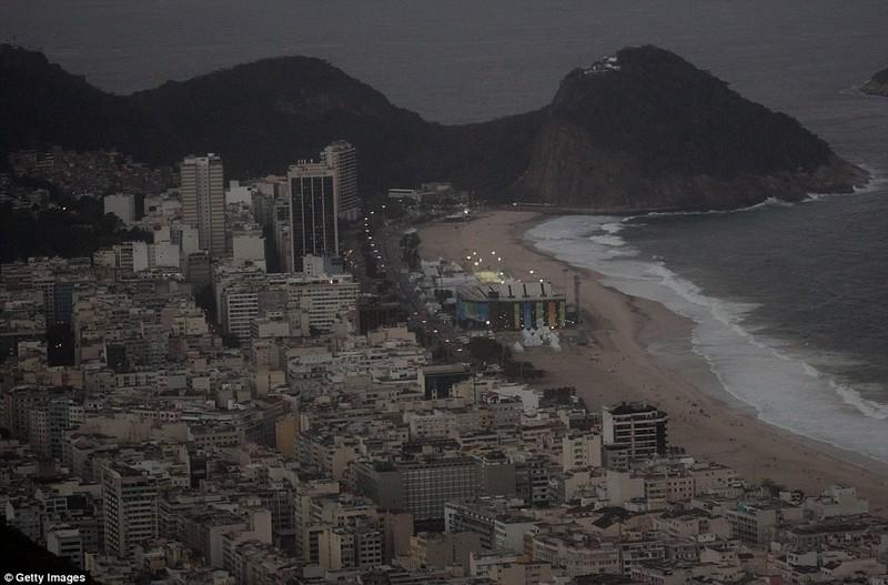 Hình ảnh đẹp ngỡ ngàng tại Rio trước lễ khai mạc Olympic - ảnh 9