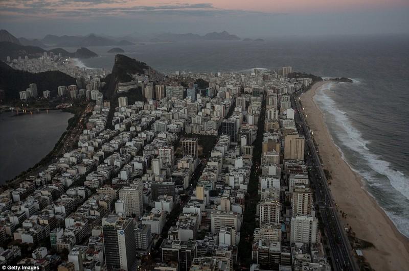 Hình ảnh đẹp ngỡ ngàng tại Rio trước lễ khai mạc Olympic - ảnh 10