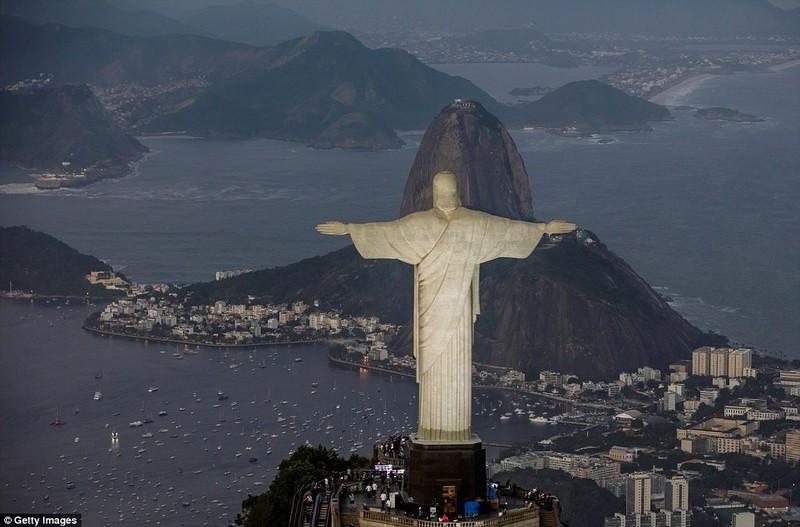 Hình ảnh đẹp ngỡ ngàng tại Rio trước lễ khai mạc Olympic - ảnh 6