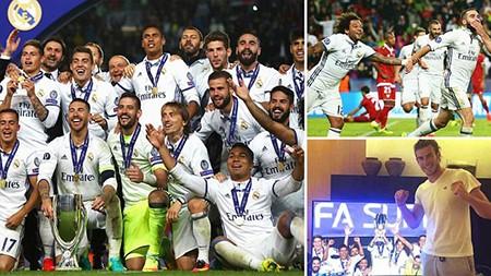 Real giành siêu cúp châu Âu trong cảnh trở về từ cõi chết - ảnh 1