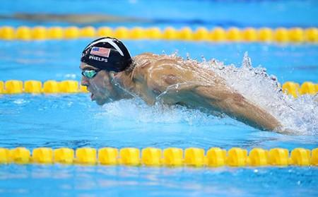 Siêu kình ngư Michael Phelps giành HCV thứ 22 - ảnh 5