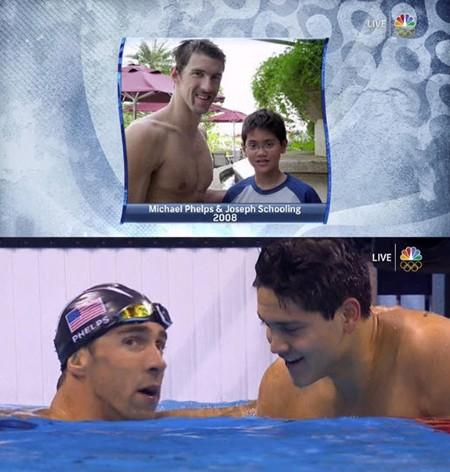 Đánh bại Phelps, Schoolling của Singapore phá kỷ lục Olympic - ảnh 4
