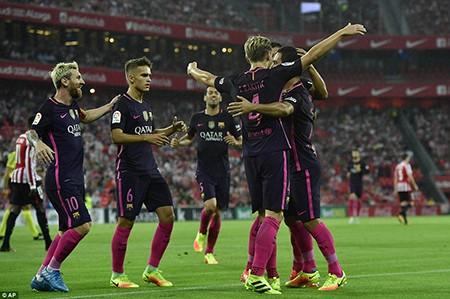 Rakitic giải cứu, Barcelona nhọc nhằn 'vượt ải' Bilbao - ảnh 5