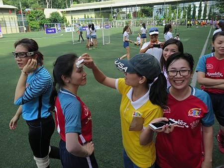 Giải bóng đá Hội Nhà báo TP.HCM 2016: Bóng hồng trên sân cỏ! - ảnh 14