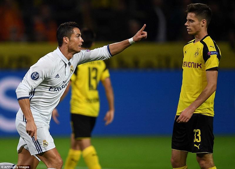 Đôi công hấp dẫn, Real và Dortmund chia điểm nhau - ảnh 1