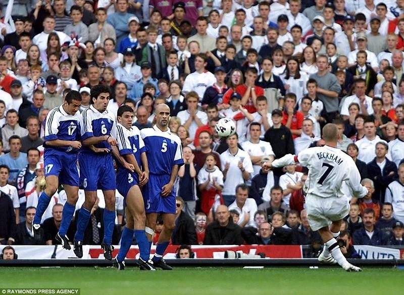 15 năm trước,Beckham đã tạo nên khoảnh khắc bùng nổ này - ảnh 4