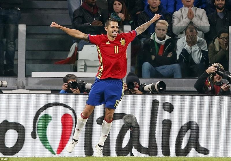 Ý thoát thua phút cuối trước Tây Ban Nha - ảnh 2