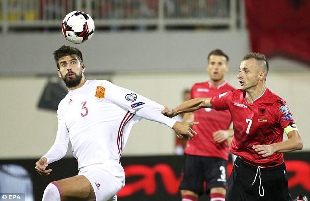 Pique ấn định ngày chia tay đội tuyển quốc gia - ảnh 1