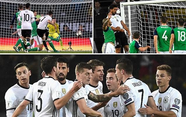 Đức thắng thần tốc, Anh nhọc nhằn kiếm 1 điểm - ảnh 1