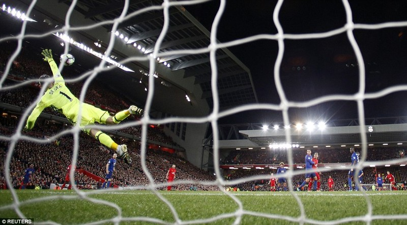 De Gea 'lên đồng', Man United cầm hòa Liverpool - ảnh 4
