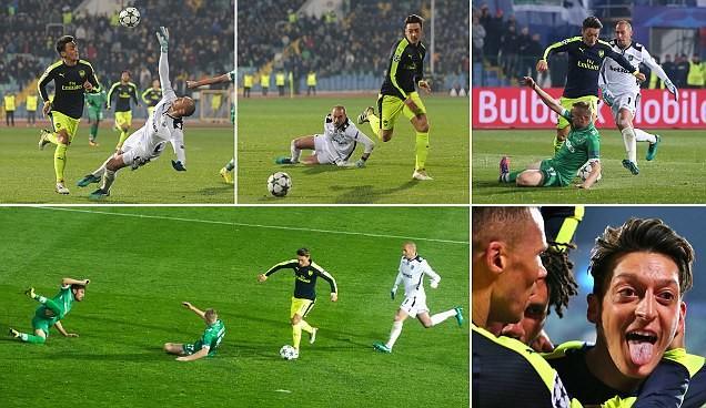 Bayern,Arsenal cùng ngược dòng ngoạn mục trên sân khách - ảnh 1