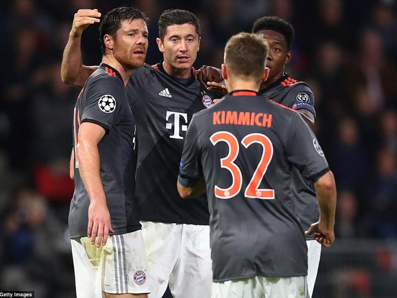 Bayern,Arsenal cùng ngược dòng ngoạn mục trên sân khách - ảnh 2