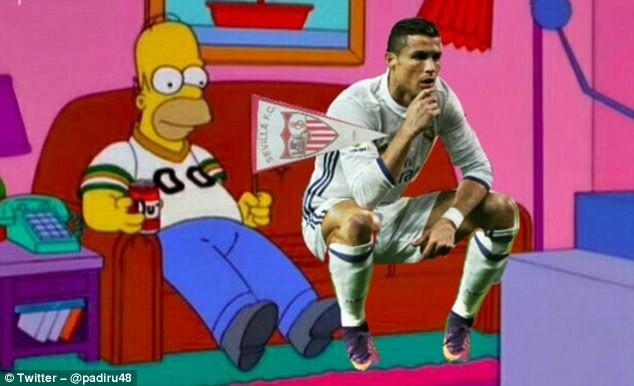 Ảnh chế Ronaldo mừng bàn thắng theo trào lưu đứng hình - ảnh 6