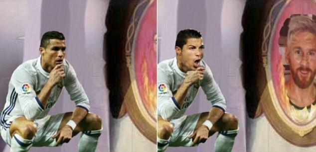 Ảnh chế Ronaldo mừng bàn thắng theo trào lưu đứng hình - ảnh 8