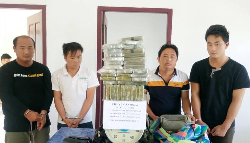 Chặt đứt đường dây mang lượng ma túy lớn vào Việt Nam - ảnh 1