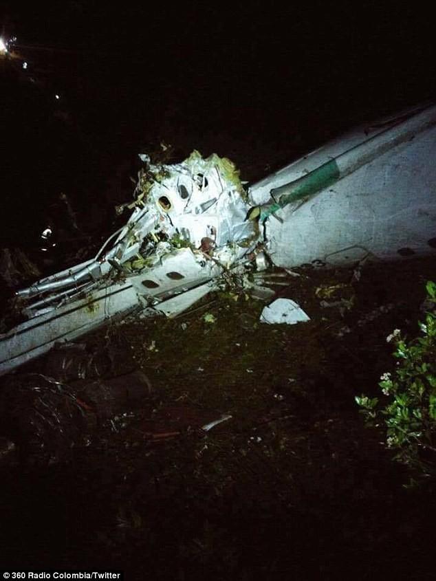 Vụ máy bay chở một CLB bóng đá Brazil rơi: Bi kịch! - ảnh 2
