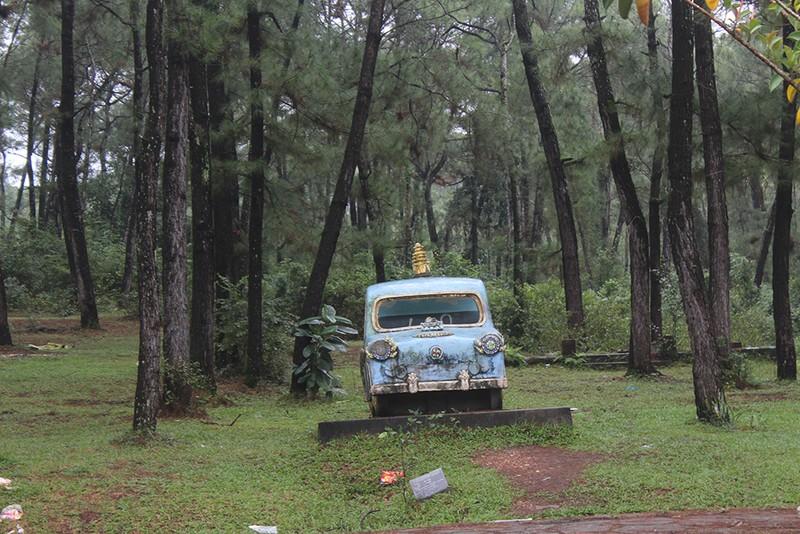 Chùm ảnh: Công viên nước 70 tỉ bỏ hoang từng lên báo Mỹ - ảnh 6