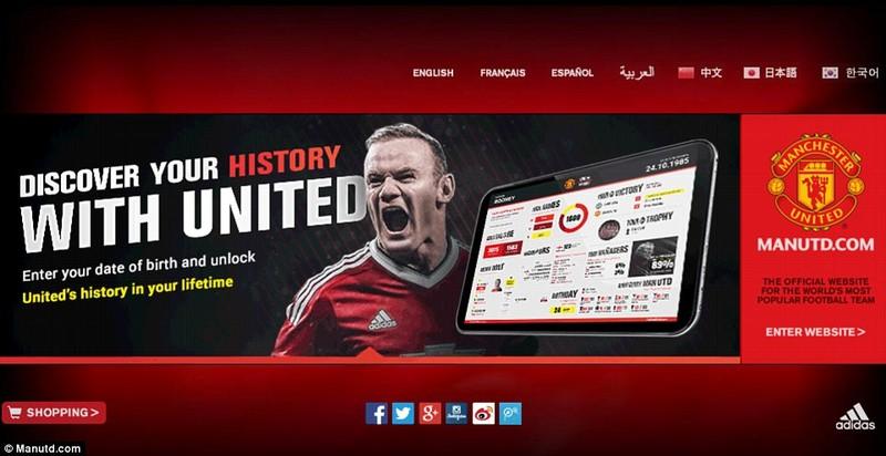 Website MU được truy cập 'khủng' nhất thế giới bóng đá - ảnh 1