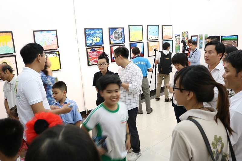 Buổi triển lãm 'lạ' gây quỹ bảo vệ động vật hoang dã - ảnh 4