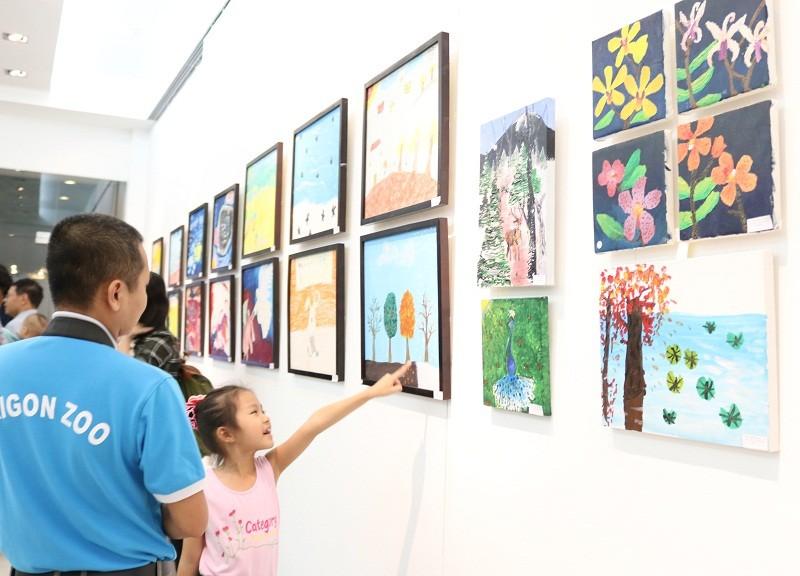 Buổi triển lãm 'lạ' gây quỹ bảo vệ động vật hoang dã - ảnh 6