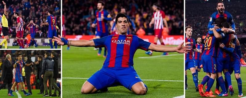 Barca vào chung kết cúp nhà vua trong trận cầu bạo lực - ảnh 3