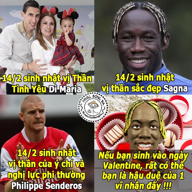 Ảnh chế:Ronaldo khóc vì Valentine,Mr Bean làm fan Barca - ảnh 5
