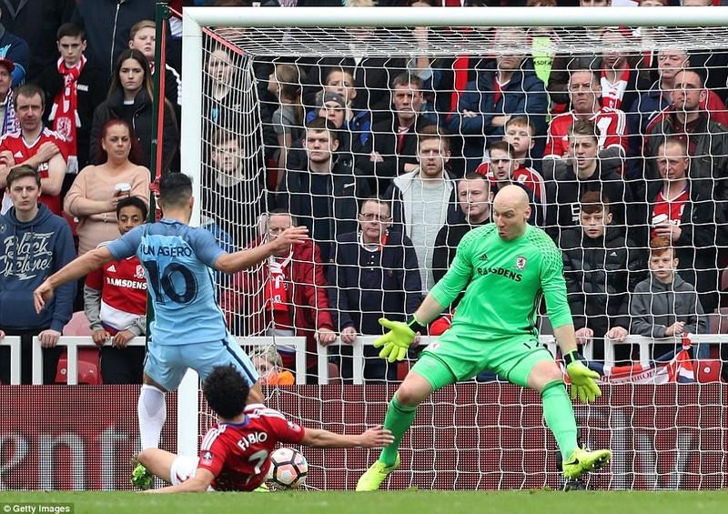 Thắng nhẹ Middlesbrough, Man City  vào bán kết FA Cup - ảnh 3