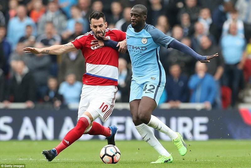 Thắng nhẹ Middlesbrough, Man City  vào bán kết FA Cup - ảnh 2