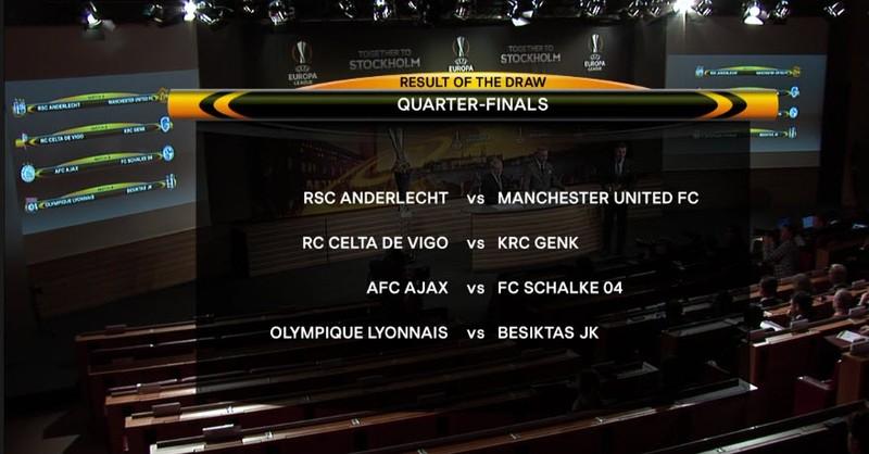 Bốc thăm tứ kết Europa League: MU 'dễ thở' - ảnh 2