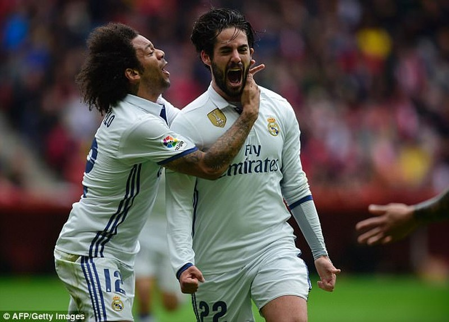 Isco rực sáng, Real Madrid ngược dòng thắng phút 90 - ảnh 3