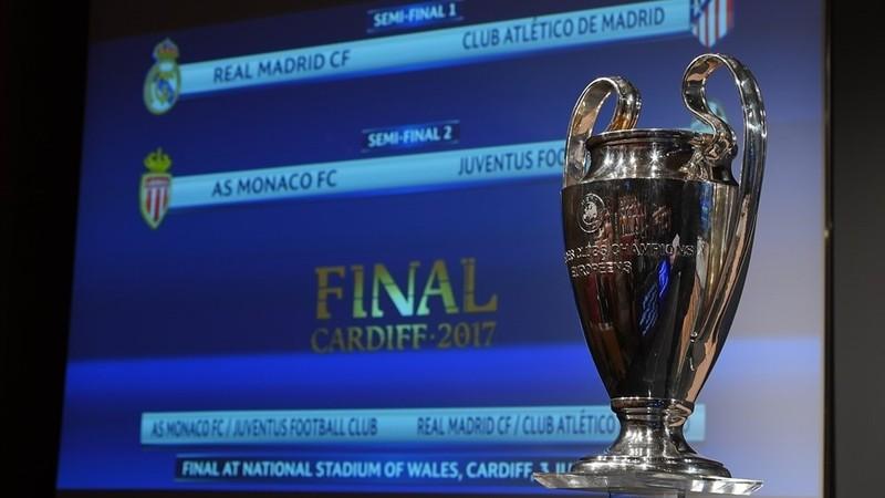 Bốc thăm bán kết Cúp châu Âu: Derby Madrid, MU dễ thở - ảnh 1