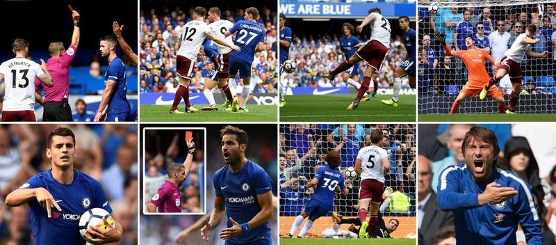 Nhận 2 thẻ đỏ, Chelsea thua sốc ngay trên sân nhà - ảnh 1