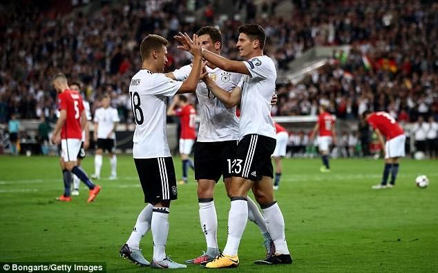 Thắng liền 8 trận, Đức vẫn chưa có vé dự World cup 2018 - ảnh 3