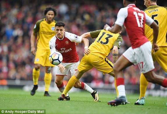 Thắng dễ Brighton, Arsenal trở lại cuộc đua vô địch - ảnh 3