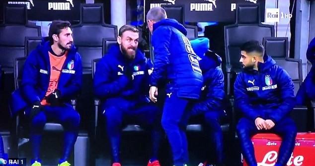 """Cầu thủ Thụy Điển ăn mừng """"nổi loạn"""", De Rossi nổi giận - ảnh 3"""