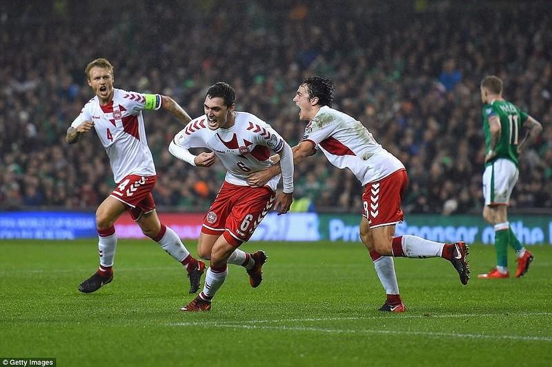 Sao Tottenham rực sáng đưa Đan Mạch bay vào World Cup - ảnh 8