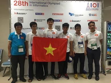 Olympic Tin học quốc tế năm 2016