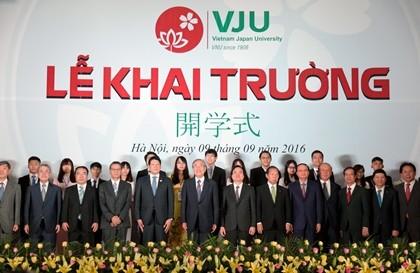 Chính thức ra mắt Trường Đại học Việt Nhật - ảnh 1