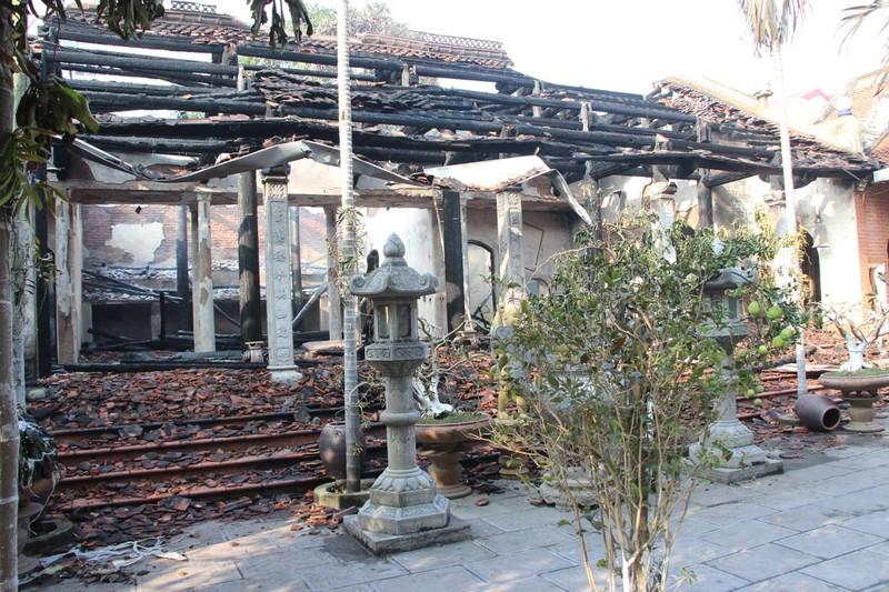 Hé lộ nguyên nhân vụ cháy trong chùa Tĩnh Lâu - ảnh 1
